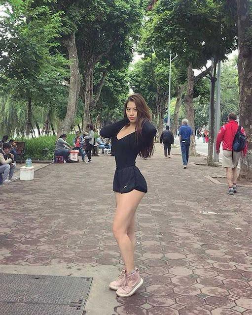 """Body nóng bỏng, số đo chuẩn từng centimet của """"hot girl siêu vòng 3"""" Việt"""