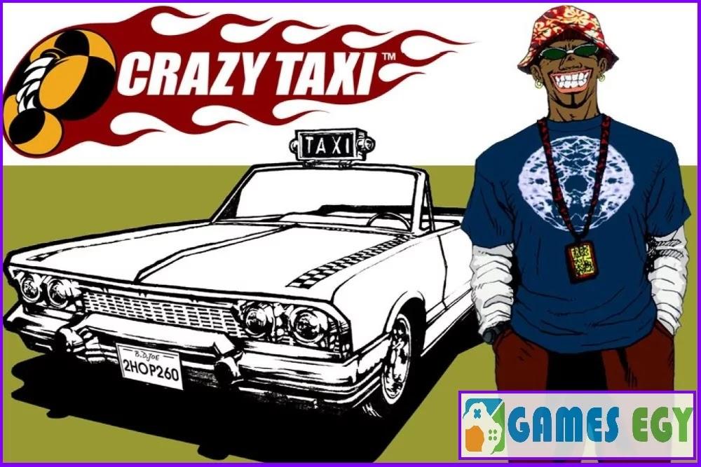 لعبة حرامي السيارات Crazy Taxi