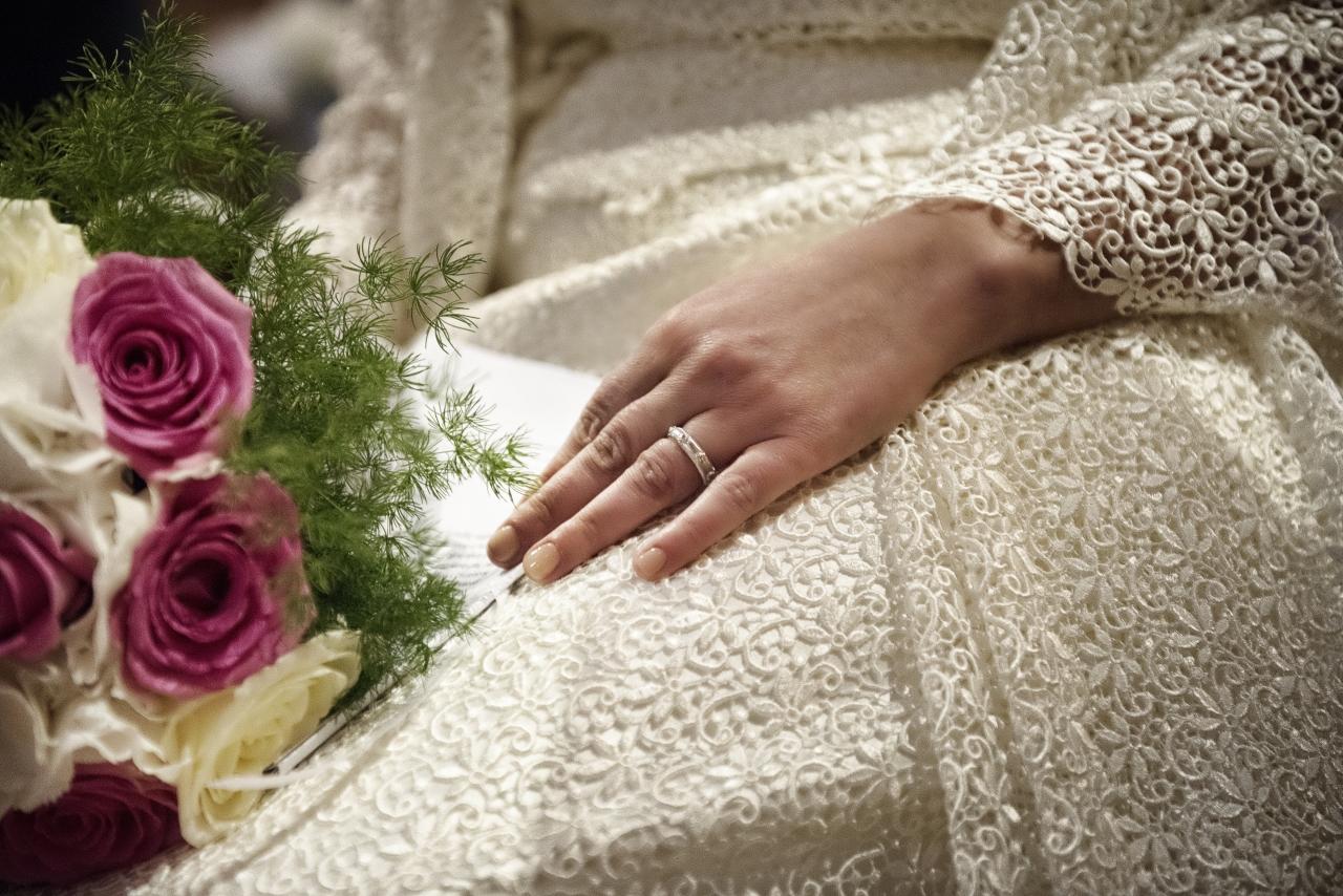 [Real Wedding] La cornice di un castello per un matrimonio elegante