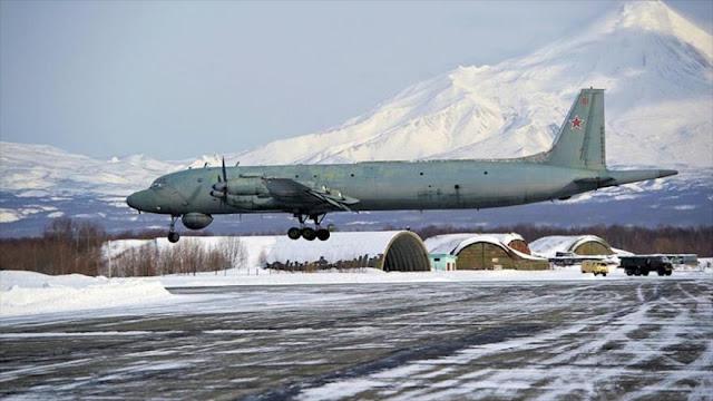 Aviones militares rusos se acercan a EEUU por 4 días consecutivos