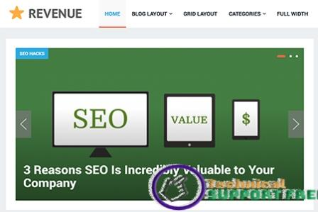 Download revenue pro theme for Wordpress for free