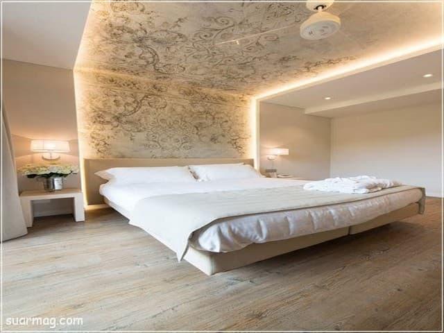 اسقف جبس بورد حديثة غرف نوم 3   Bedrooms Modern Gypsum Ceiling 3