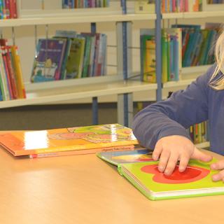 Kleinkind Stadtbücherei