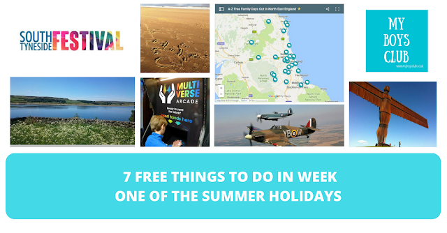 7 FREE Things to Do in Week One of the Summer Holidays