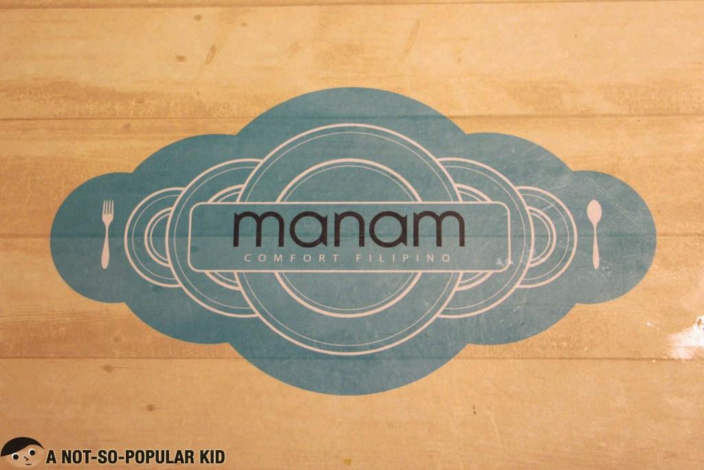 Manam Comfort Filipino Restaurant Logo
