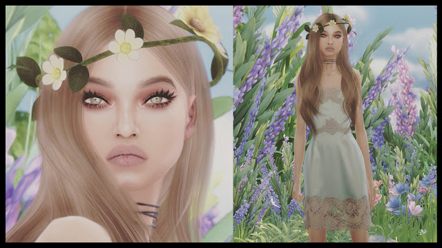 the sims 4 beautiful girl
