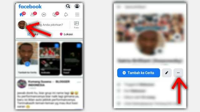 Cara Melihat Link FB sendiri