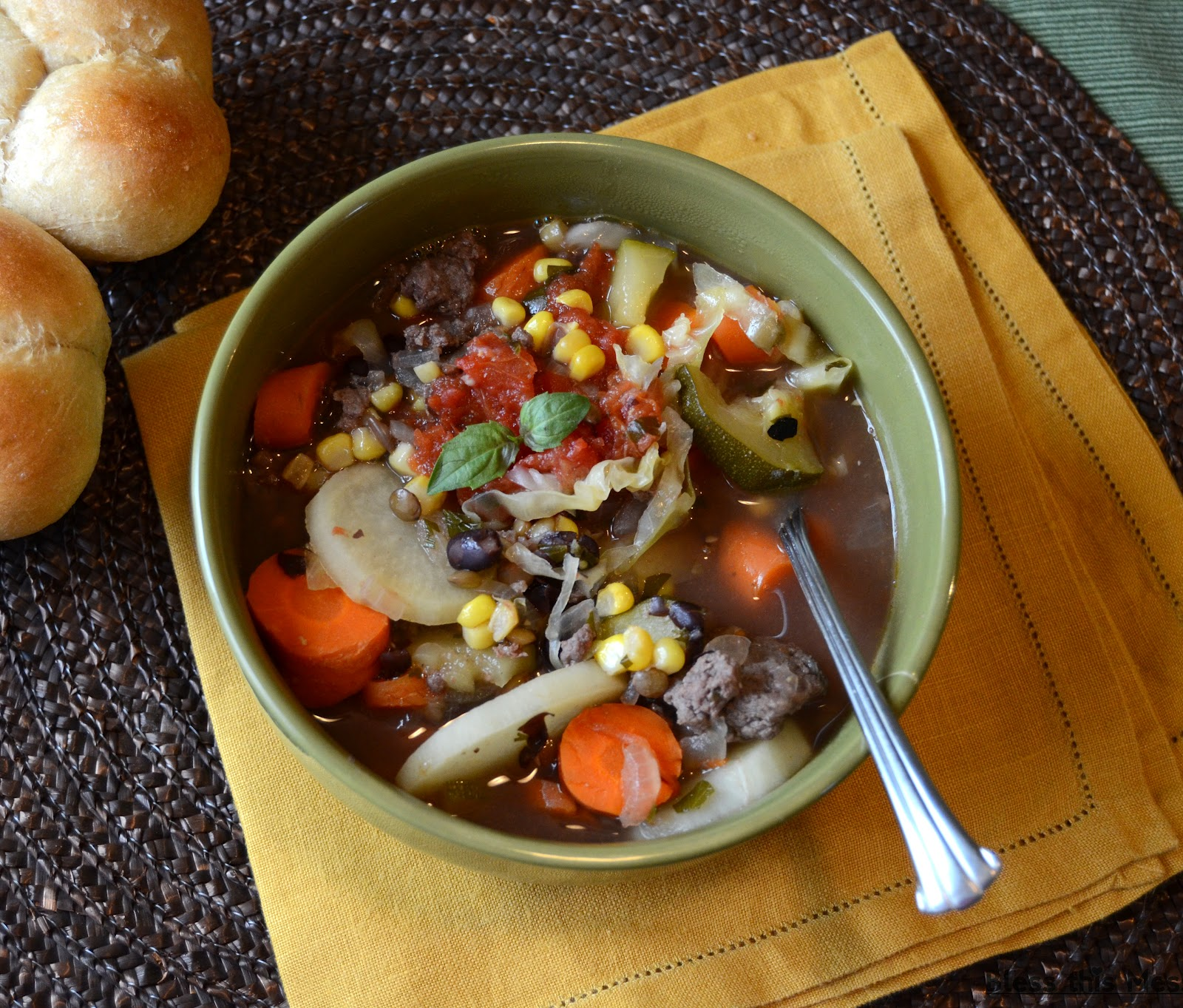 Kitchen Sink Vegetable Soup