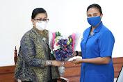 Ny Putri Koster Jalin Sinergitas dengan Organisasi Istri Perwira TNI AL