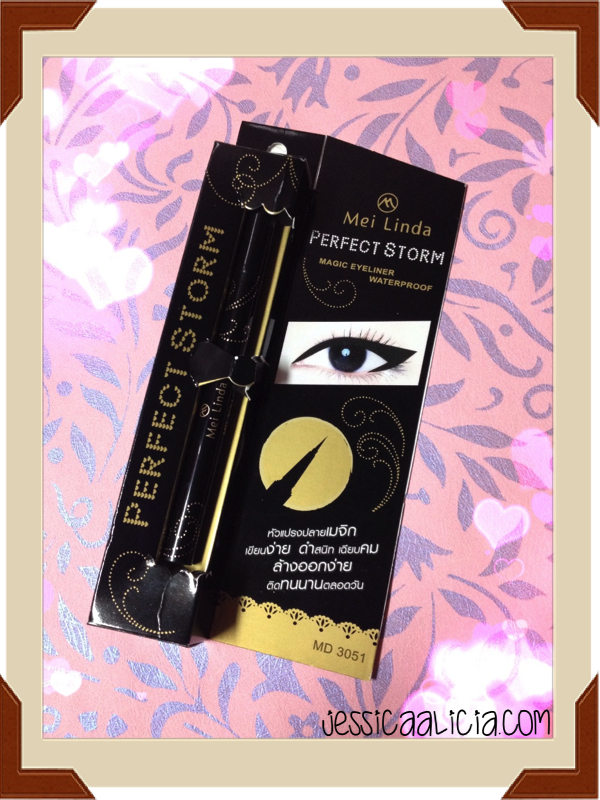 Review : Mei Linda Perfect Storm Eyeliner + Cute Bagcharm! by Jessica Alicia