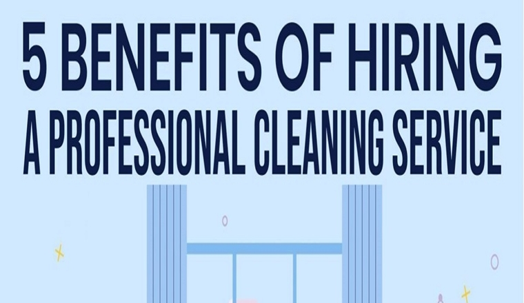 Benefits of Hiring a Professional Cleaning Service #infographic