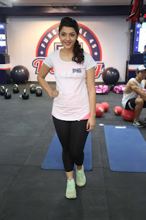 Mehreen Kaur Pictures at F45 Training Fitness Gym Launch ~ Celebs Next