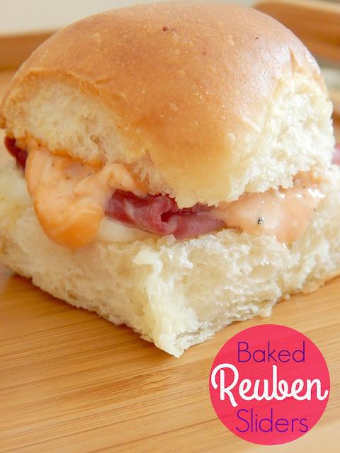 baked reuben sliders (sweetandsavoryfood.com)