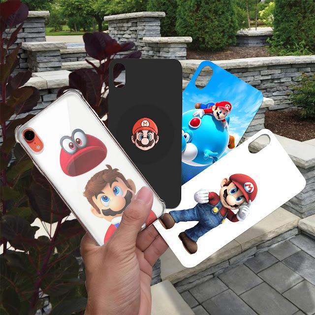 Mockup Paper Case Custom iPhone XR Gratis