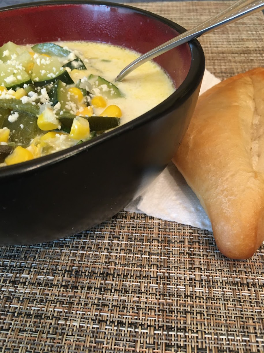 Spicy Mexican Zucchini Soup