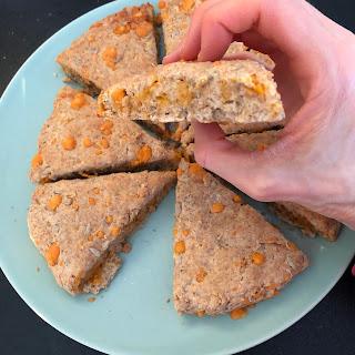 Scones à la mimolette et aux graines de tournesol