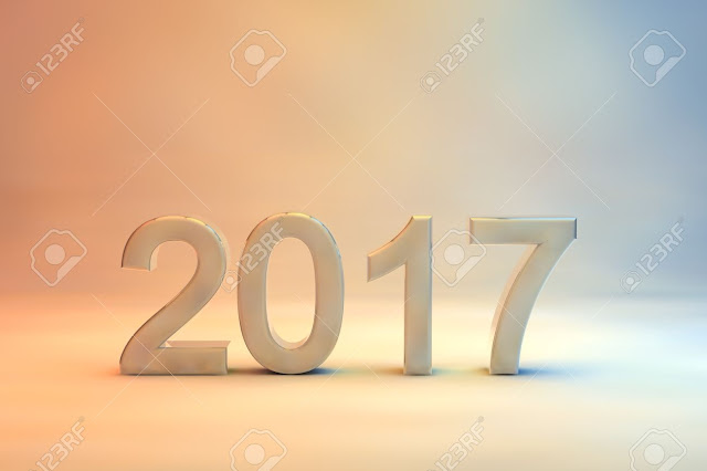 Greeting cards Image Of New Year 2017