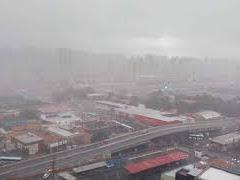 Chuvas intensas atingem o Ceará e causam transtornos em Fortaleza