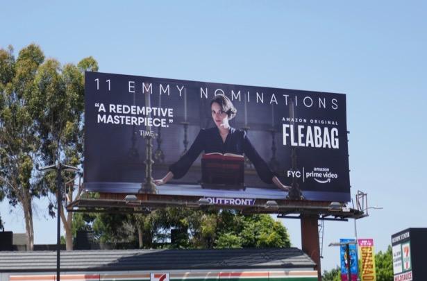 Fleabag season 2 Emmy nominee billboard