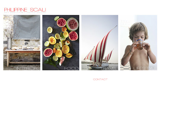 Bureau Jules web design shop in San Francisco client: Philippine Scali