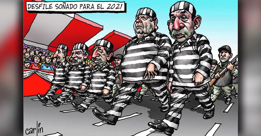 Carlincaturas Domingo 30 Julio 2017 - La República