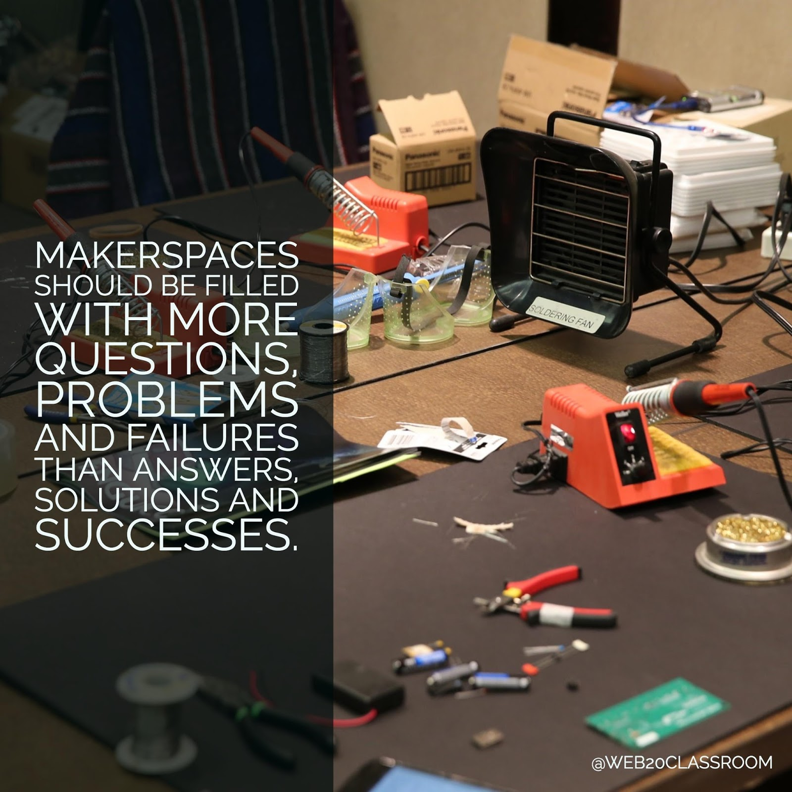 Doing More With The Classroom Makerspace