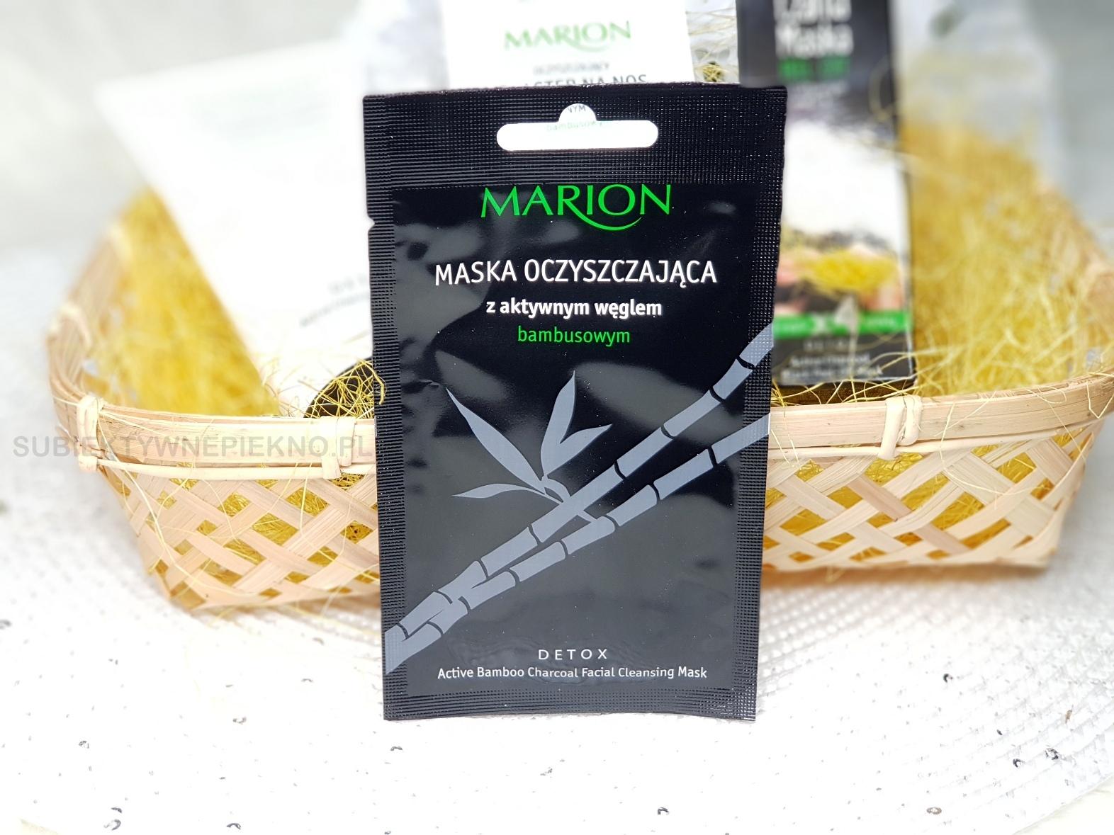 Maska oczyszczająca z węglem aktywnym Marion Detox