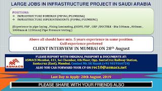 Infrastructure project in Saudi Arabia