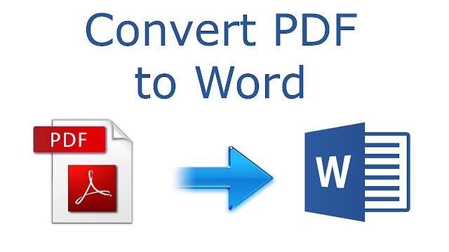 Cara Mengubah File Pdf Ke Word Agar Bisa Diedit