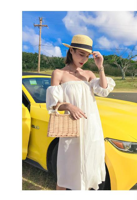 Shop ban vay maxi di bien o Yen Hoa