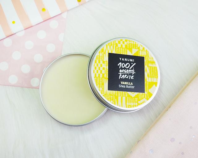 Lana Talks | Yanumi 100% Organic Karite Vanilla Shea Butter