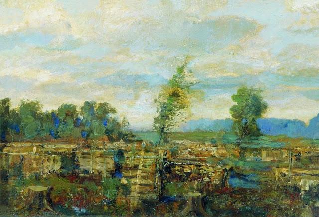 Исаак Ильич Левитан - Осенний пейзаж (3)