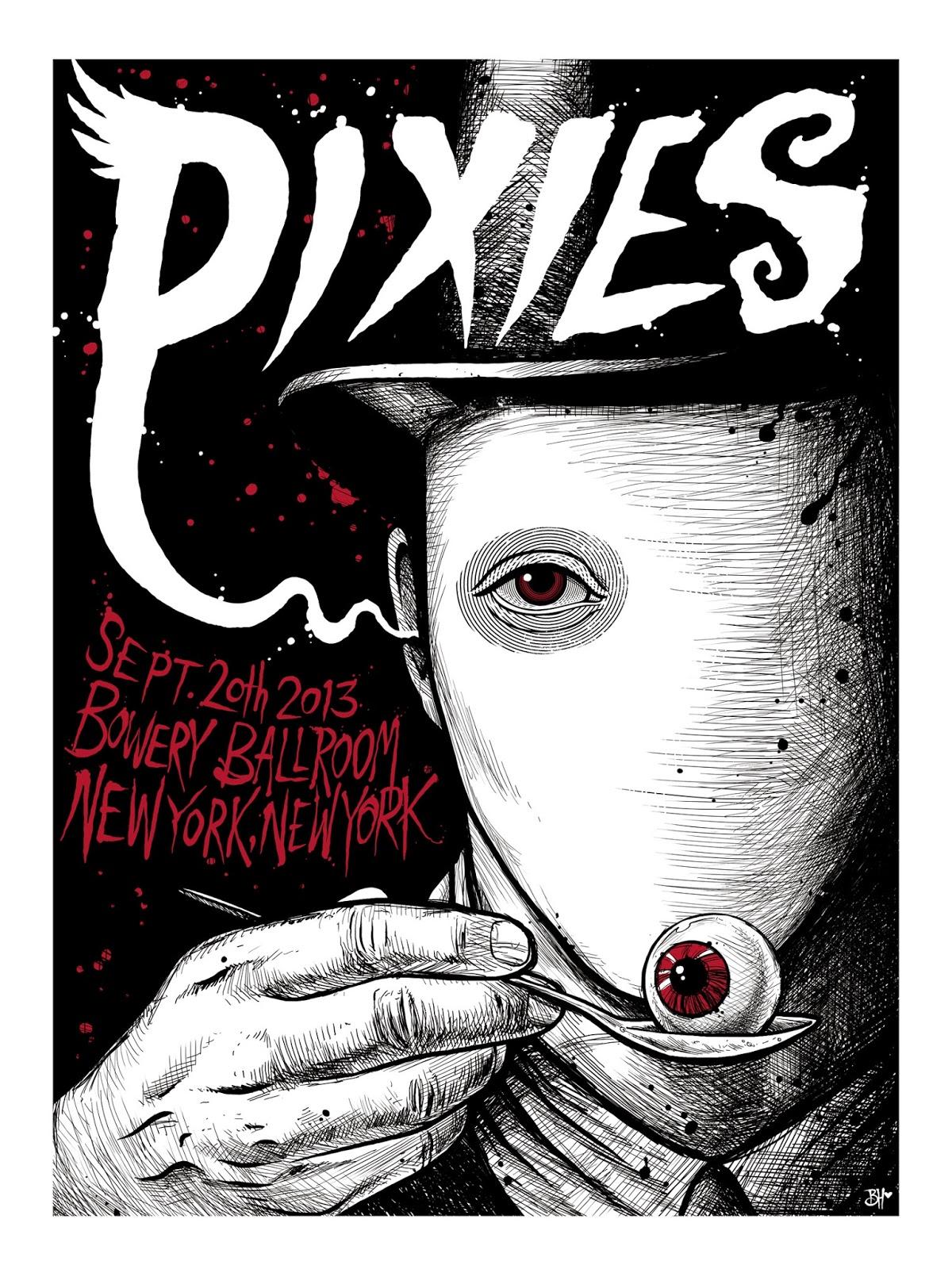 Pixies  Tour Poster