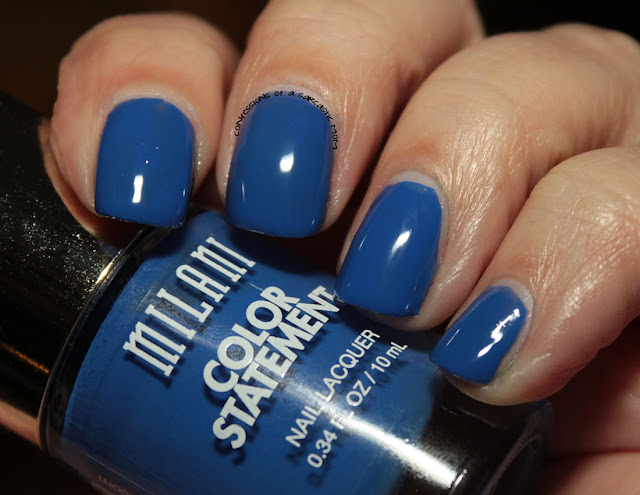 31 Days of Blue for Huntington's Disease Awareness - Milani Blue Print