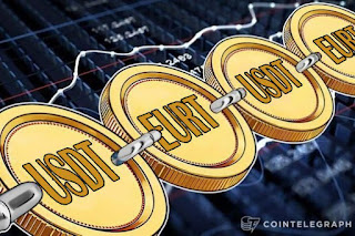 Tether Adds 146 mln euro-pegged EURT to its Ethereum Blockchain Token