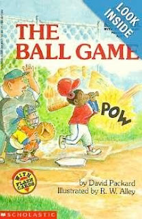 bookcover of The Ball Game  (My First Hello Reader!)   by David Packard