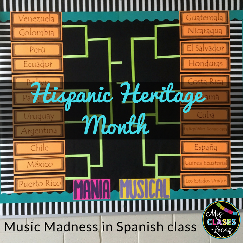 Hispanic Heritage Month Music Madness!