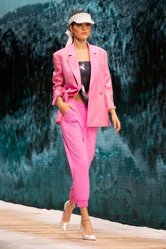 hot pink fashion