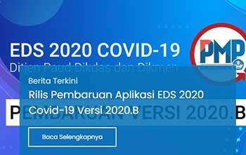 Patch dan Installer EDS 2020 Covid 19 Versi 2020 B PMP versi 2020 B