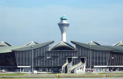 Airport in Kuala Lampur