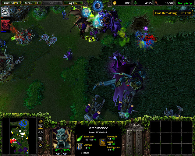 Twilight of the Gods Mission 34 | Archimonde Screenshot | Warcraft 3: Reign of Chaos