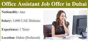 Female Receptionist Cum Office Co-Ordinator Job in Dubai