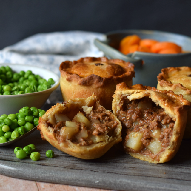 How to make a Vegetarian version of Meat & Potato Pies