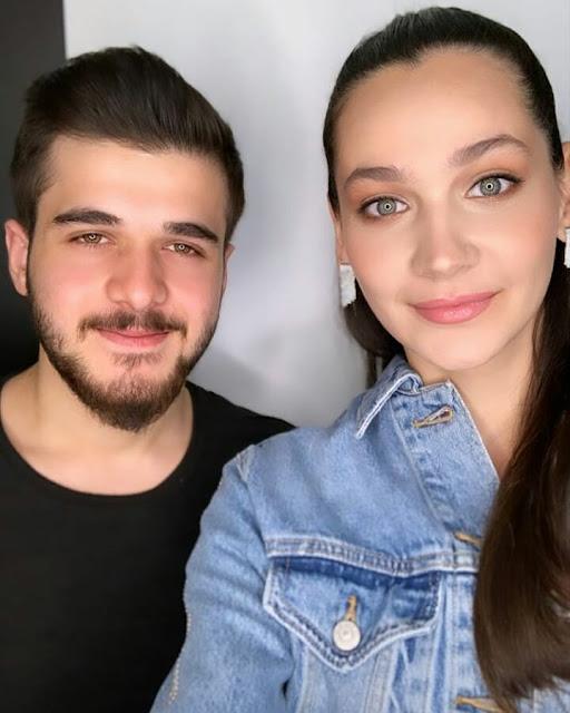 Gulsim Ali with boyfriend