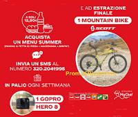 Logo Coca-Cola e MyChef : vinci GoPro Hero 8 e Mountain Bike Scott