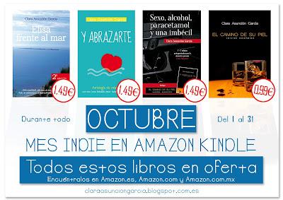 Obras en oferta para el Mes Indie Amazon