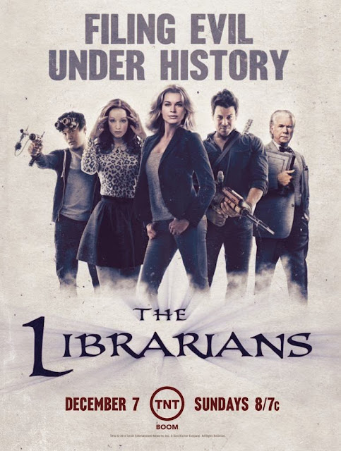 The Librarians (2014-) ταινιες online seires xrysoi greek subs