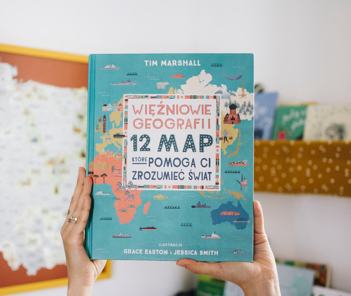 Tim Marshall - Więźniowie geografii 12 map