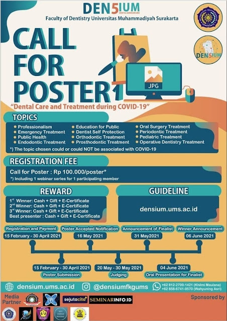 CALL FOR PAPER AND CALL FOR POSTER Medicine is where Science marries art; where research marries creativity