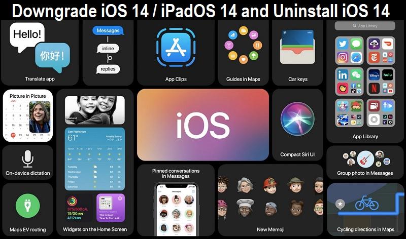 Downgrade iOS 14.3 to iOS 14.2